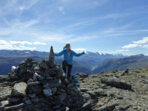 Gipfelbesteigung-wie komme ich wieder runter?